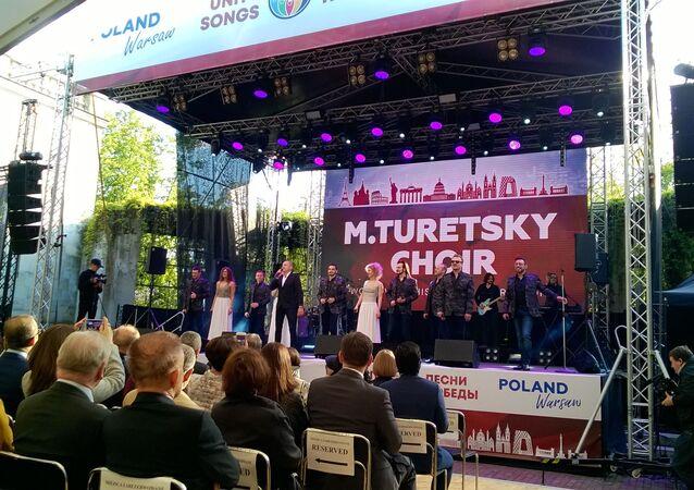Światowe tourne Chóru Tureckiego. Warszawa