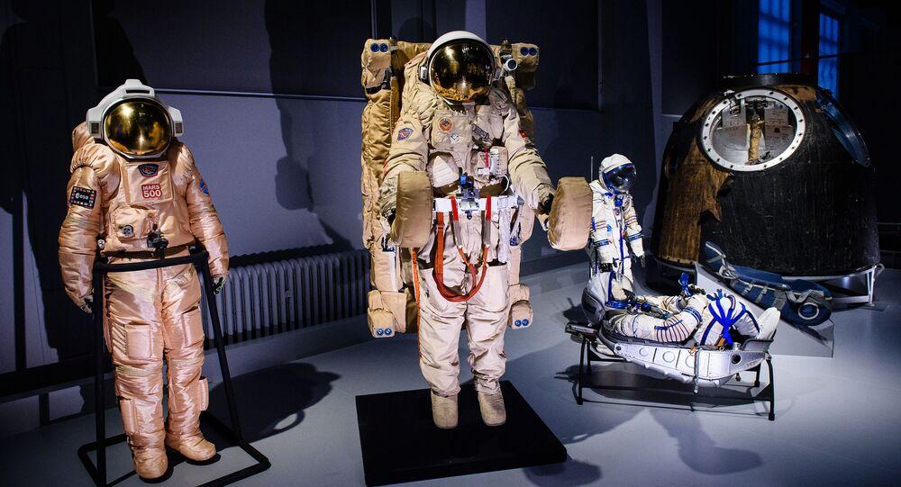 """Wystawa """"Kosmonauci: narodziny ery kosmicznej"""""""