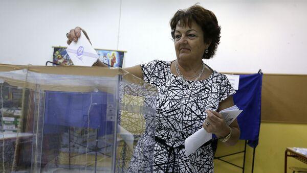 Przedterminowe wybory parlamentarne w Grecji - Sputnik Polska