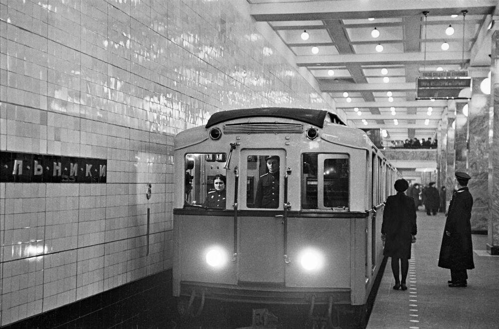Stacja moskiewskiego metra Sokolniki, 1948 rok