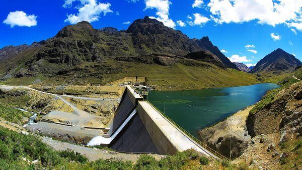 Elektrownia wodna na jednej z peruwiańskich rzek - Sputnik Polska