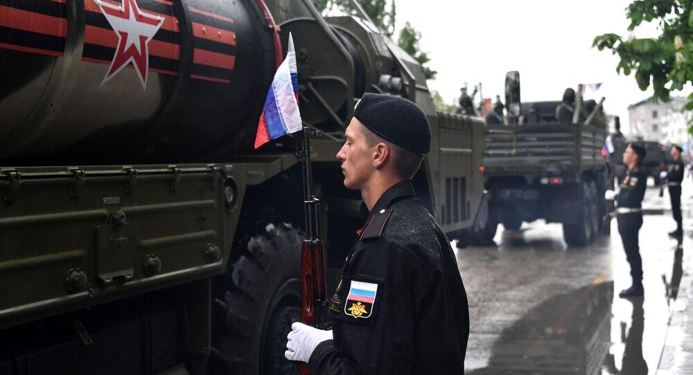 Rosyjskie kompleksy rakietowe S-400