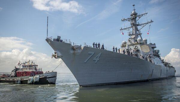 Okręt USS McFaul - Sputnik Polska