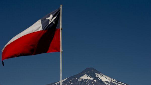 Flaga Chile - Sputnik Polska