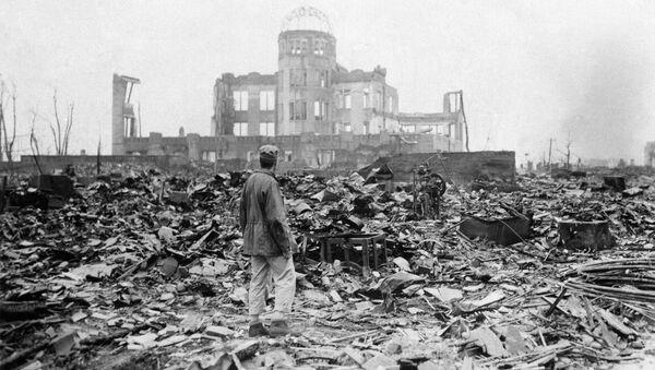 Hiroszima, Japonia, 1945 rok - Sputnik Polska