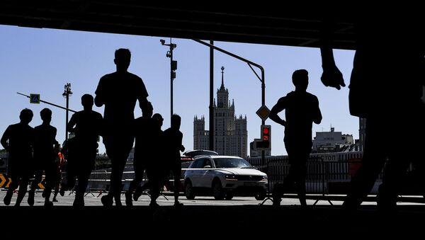 Moskiewski półmaraton - Sputnik Polska