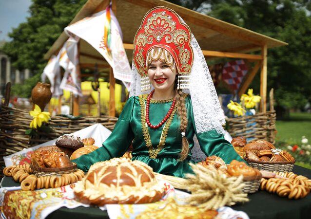 """Uczestniczka targów i jarmarku turystyki wiejskiej """"AgroTUR-2019"""" w Krasnodarze"""