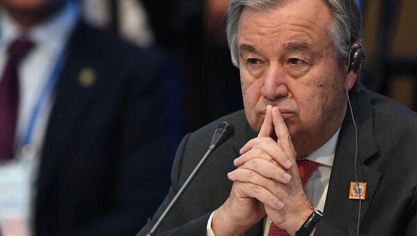 Antonio Guterres - Sputnik Polska