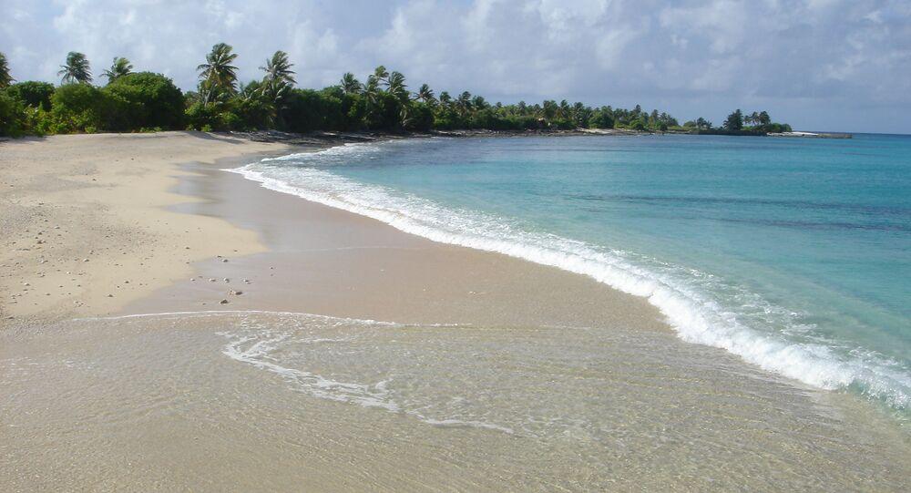 Atol Bikini na Oceanie Spokojnym