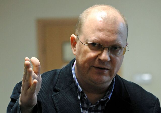 "Dziennikarz MIA ""Rossiya segodnya"" Leonid Swiridow"