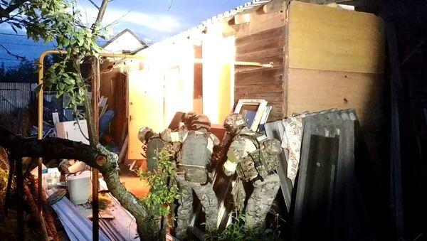 Operacja antyterrorystyczna w mieście Kolczugino w obwodzie włodzimierskim - Sputnik Polska