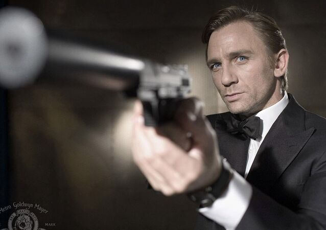 Daniel Craig jako James Bond w Casino Royale.