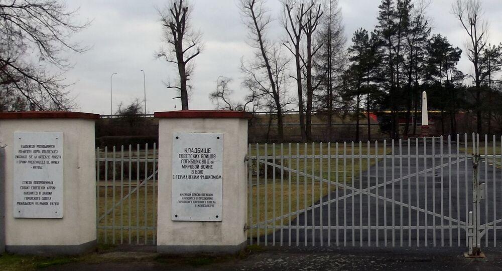 Cmentarz żołnierzy radzieckich w Międzyrzeczu