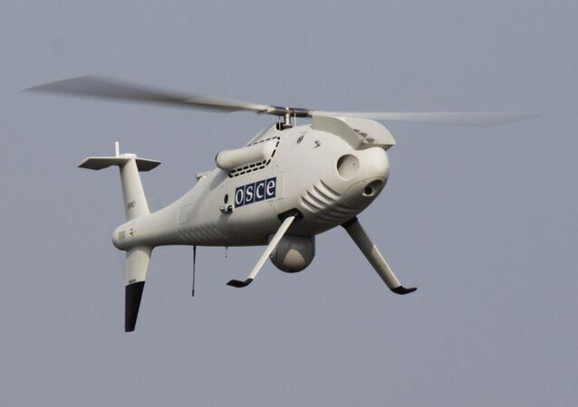 Bezzałogowy aparat latający misji OBWE na wschodzie Ukrainy