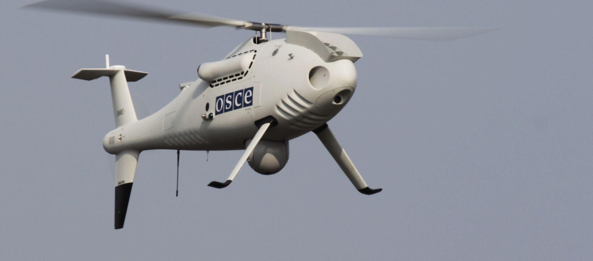 Bezzałogowy aparat latający misji OBWE na wschodzie Ukrainy - Sputnik Polska, 1920, 17.05.2021