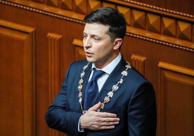 Inauguracja prezydenta Ukrainy Wołodymyra Zełenskiego