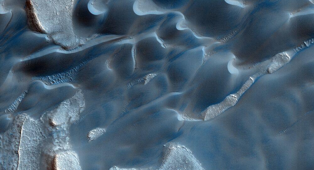 Wydmy na Marsie