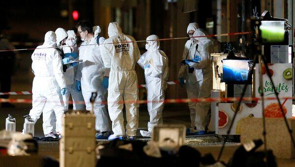 Eksplozja w Lyonie, Francja - Sputnik Polska