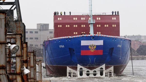 """Nowy seryjny okręt o napędzie atomowym """"Ural"""" projektu 22220 - Sputnik Polska"""