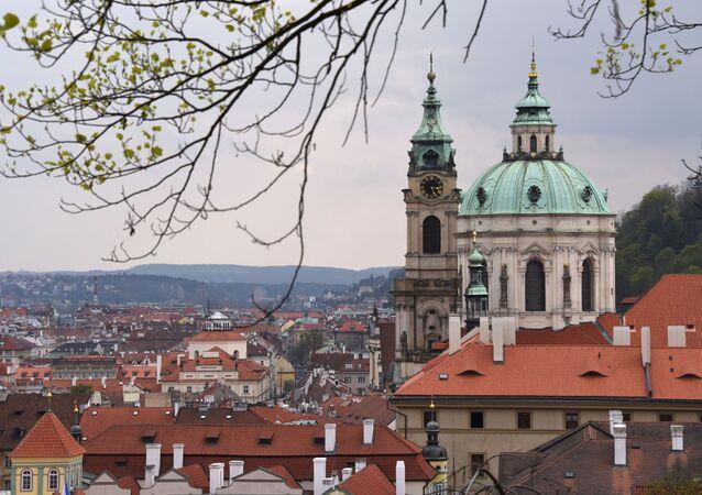 Kościół św. Mikołaja w Pradze.