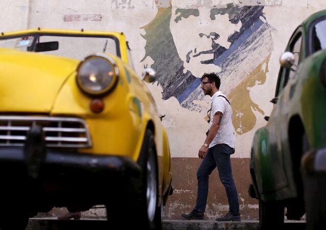 Graffiti z Che Guevarą w Havanie