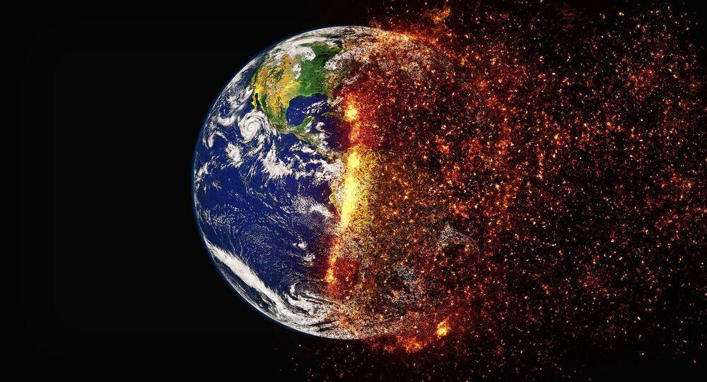 Zmiany klimatu na Ziemi, alegoria