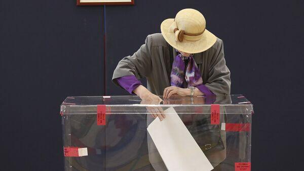 Wybory do PE - Sputnik Polska