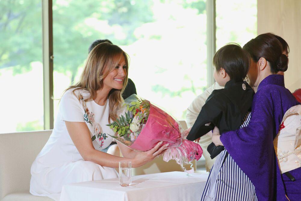 Melania Trump w Tokio