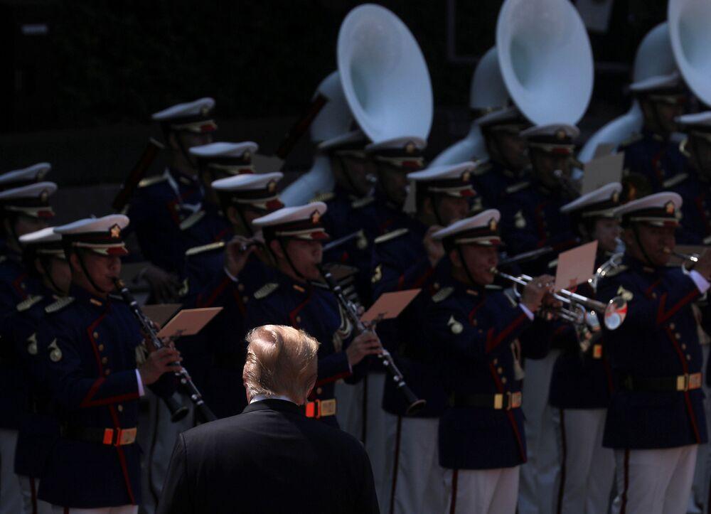 Donald Trump w Tokio