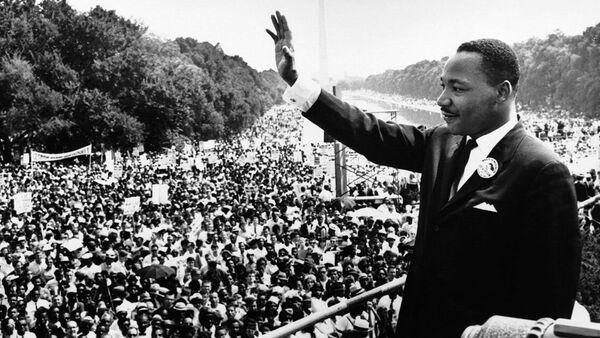 Martin Luther King Jr.  - Sputnik Polska