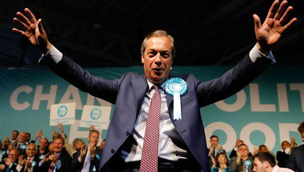 Nigel Farage - Sputnik Polska