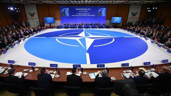 Posiedzenie ministrów spraw zagranicznych państw członkowskich NATO w Waszyngtonie - Sputnik Polska