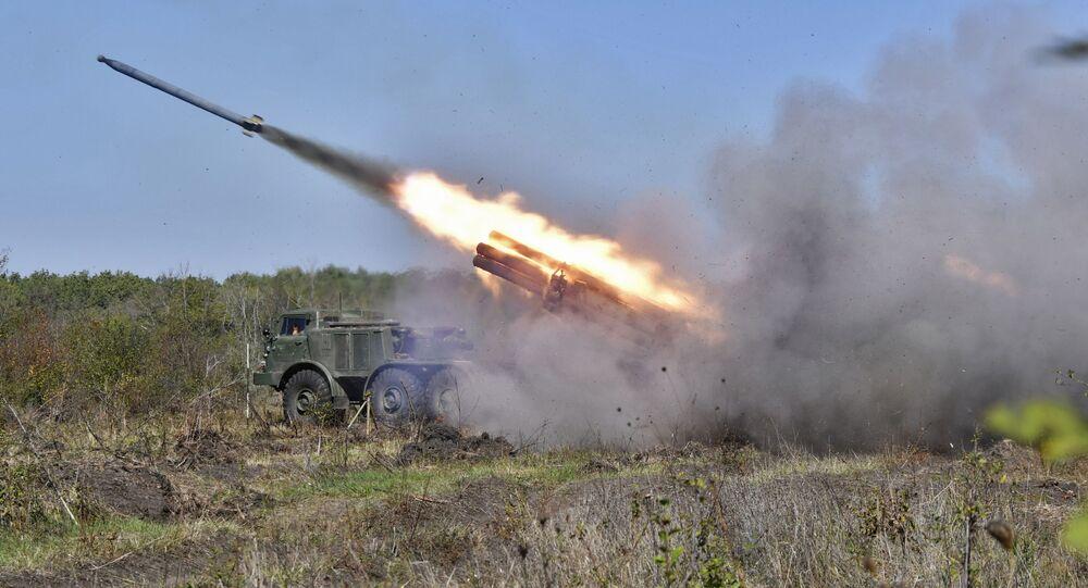 """Rosyjski system rakietowy """"Huragan"""""""