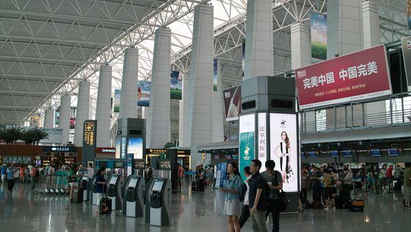 Lotnisko w Guangzhou - Sputnik Polska
