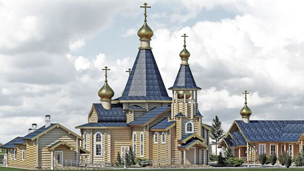 Projekt świątyni w Västerås - Sputnik Polska