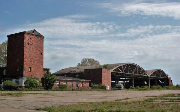 Porzucone hale dla hydroplanów zbudowane przez Trzecią Rzeszę w 1939 roku - Sputnik Polska