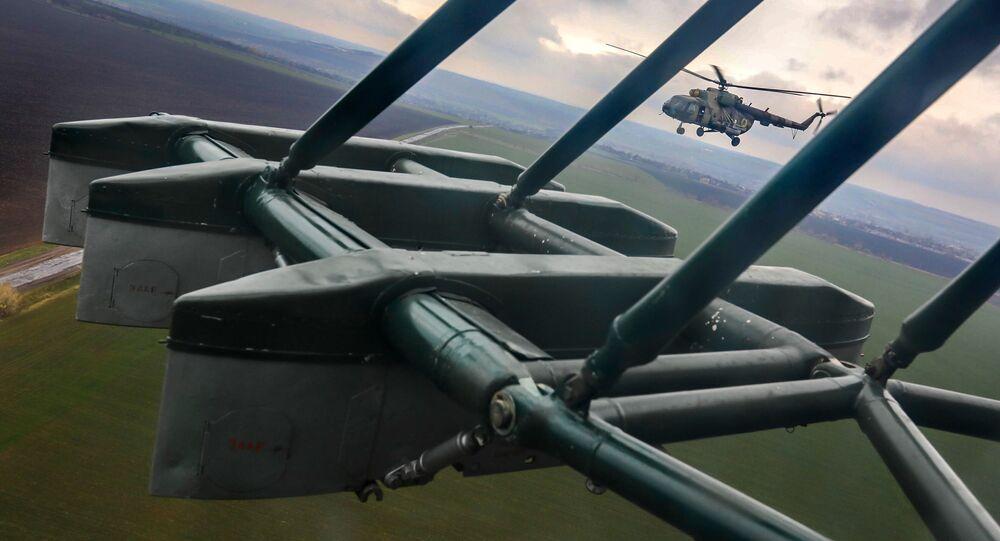 Śmigłowiec Mi-8 Sił Zbrojnych Ukrainy