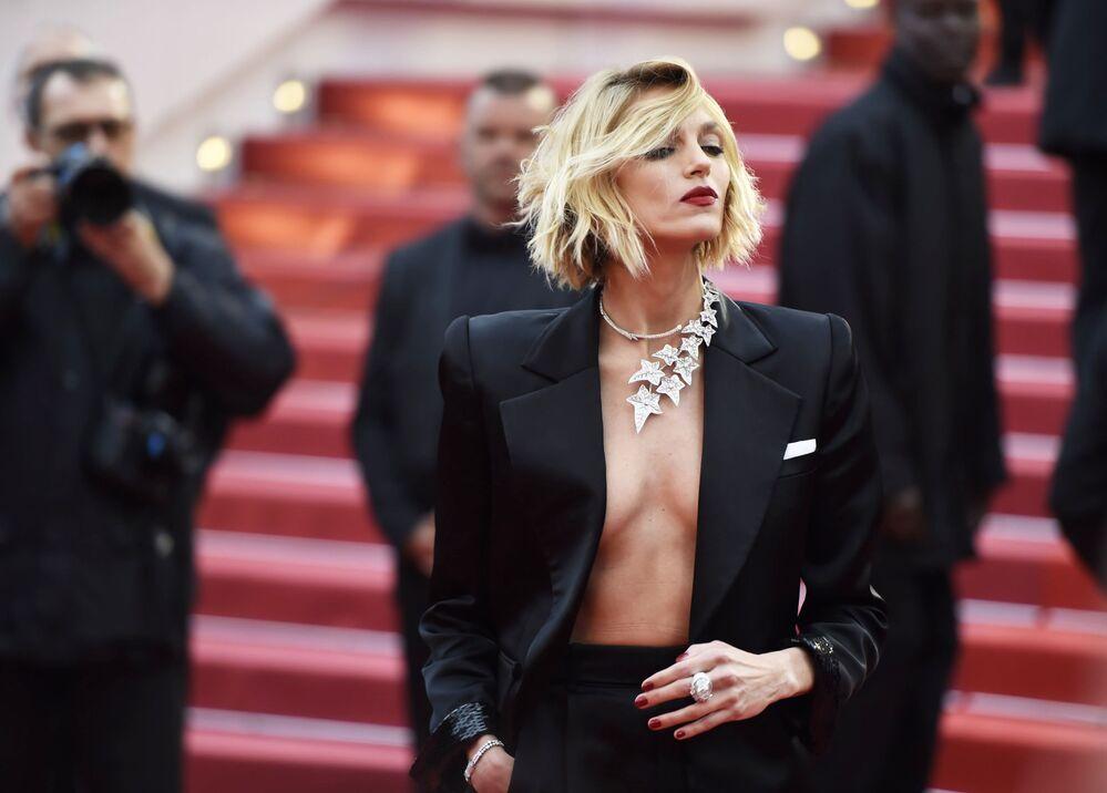 Polska modelka Anja Rubik na 72. Festiwalu Filmowym w Cannes