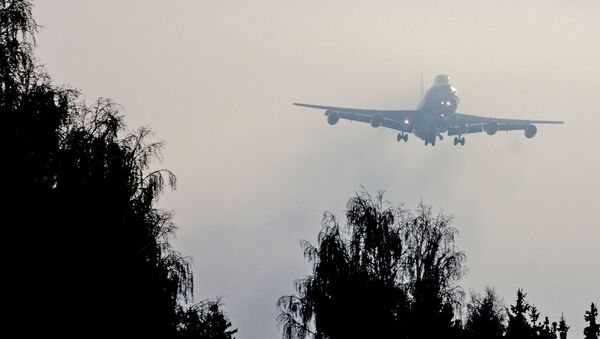 Rosyjski samolot dnia Sądu Ostatecznego Ił-80 - Sputnik Polska