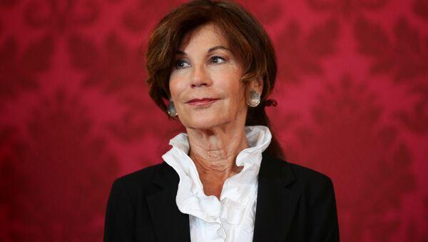 Federalna kanclerz Austrii Brigitte Bierlein - Sputnik Polska