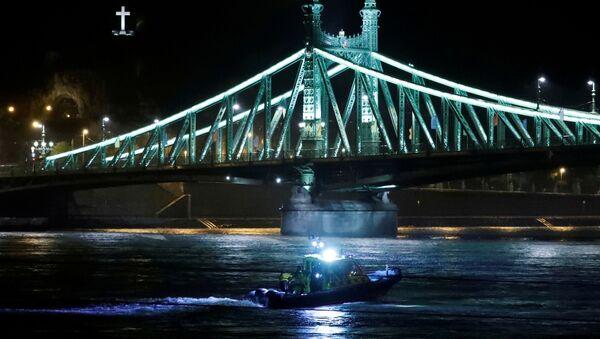Tragedia w Budapeszcie - Sputnik Polska