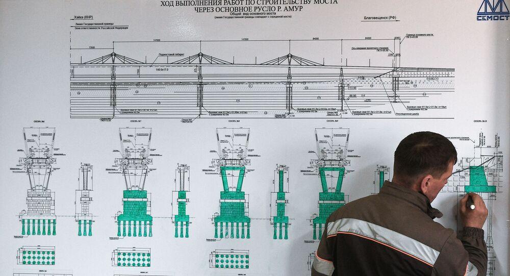 Projekt mostu Błagowieszczeńsk-Heihe