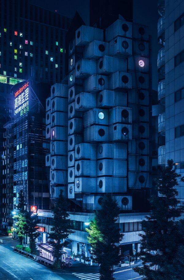 Neonowe Tokio w obiektywie Toma Blachforda - Sputnik Polska