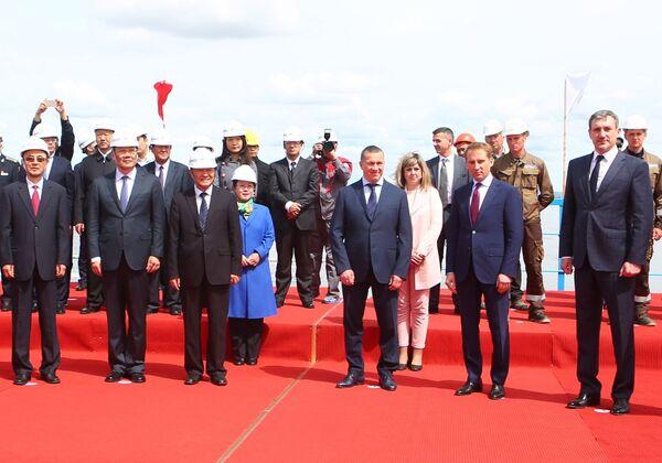 Nowy most między Rosją i Chinami - Sputnik Polska