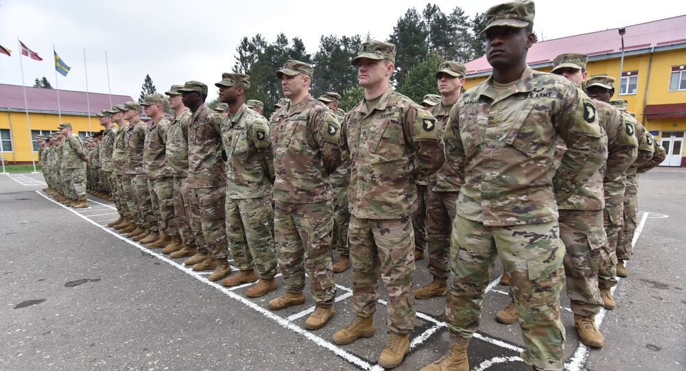 Żołnierze USA na Ukrainie