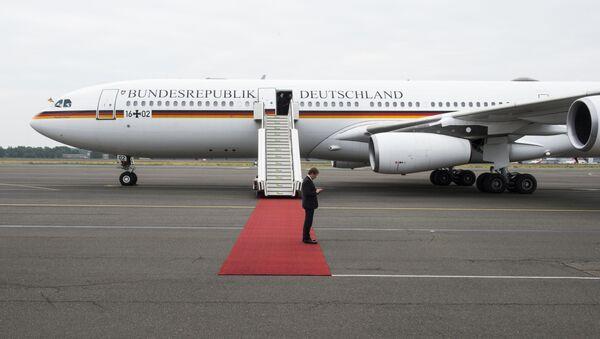 Niemiecki samolot rządowy Airbus A340 Theodor Heuss - Sputnik Polska