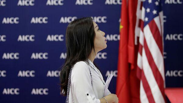 Stosunki handlowe pomiędzy USA i Chinami. Wojna handlowa - Sputnik Polska