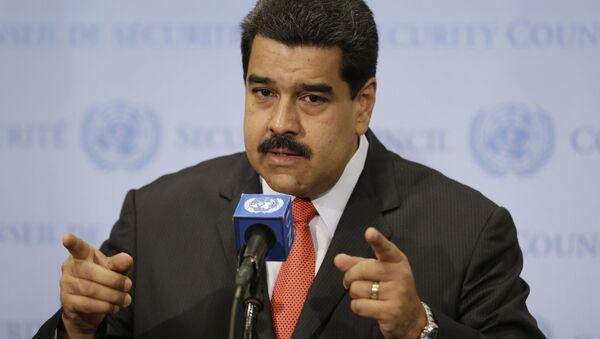 Prezydent Wenezueli Nicolás Maduro - Sputnik Polska