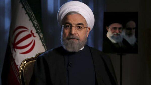 Prezydent Iranu Hassan Rouhani - Sputnik Polska