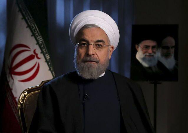 Prezydent Iranu Hassan Rouhani